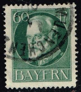 Germany-Bavaria #107 King Ludwig III; Used (2.00)