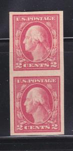 United States 409 Pair MH George Washington (B)