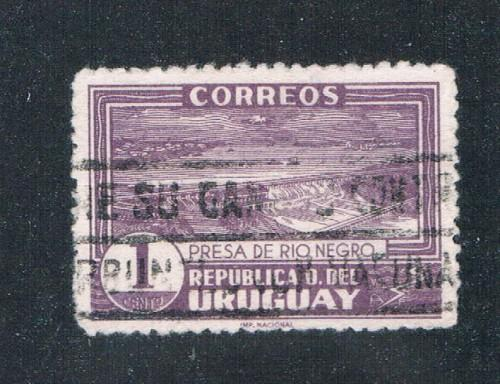 Uruguay #484 Used Power Dam (U0217)