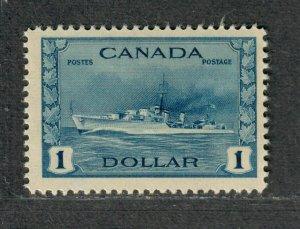 Canada Sc#262 M/NH/VF, High Value, Cv. $85