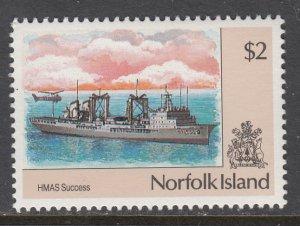 Norfolk Island 489 Ship MNH VF