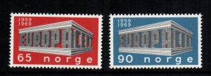 Norway  533 - 534  MNH cat $ 4.00