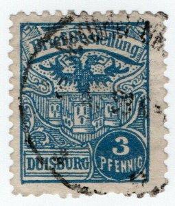 (I.B) Germany Local Post : Duisburg 3pf