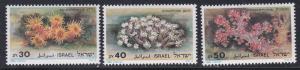 Israel #932-934 MNH