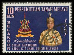 Malaya Selangor 113 Used VF