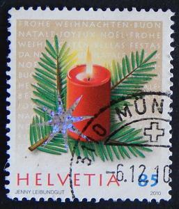 Postage stamp, Switzerland, №9-(25Sw-1IR)