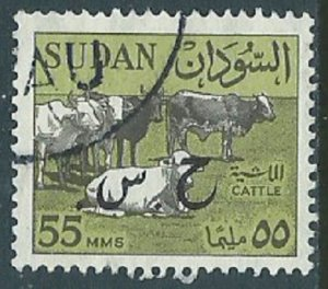 Sudan, Sc #153, 55m Used