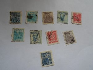 BRAZIL STAMPS. LOT OF 10. MIXED CON. #27