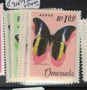 Venezuela Butterfly SC 889-91, C915-7 MNH (2efn)