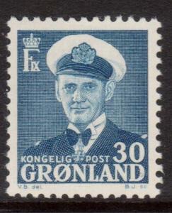 Greenland #33 VF/NH