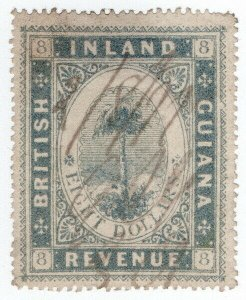 (I.B) British Guiana Revenue : Inland Revenue $8