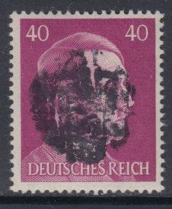 Germany Soviet Zone SBZ - LOCAL DEHLES 40Pf HITLER head - Expertized Valicek