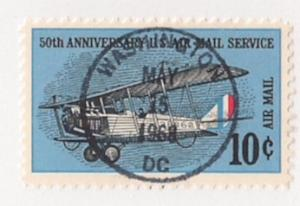 10c Anniv of Airmail Issue #C74 w SOTN first day bullseye cnl