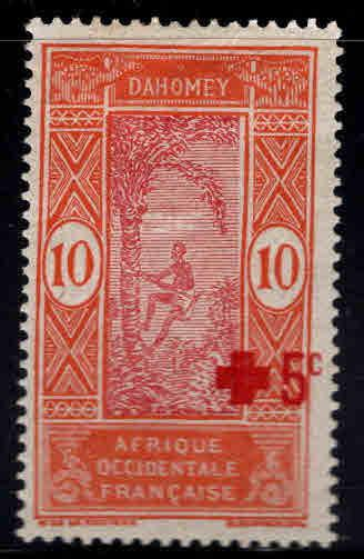 Dahomey Scott B1  MH* 1915 Red Cross stamp