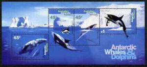 Australian Antarctic Territory 1994 Whales & Dolphins...