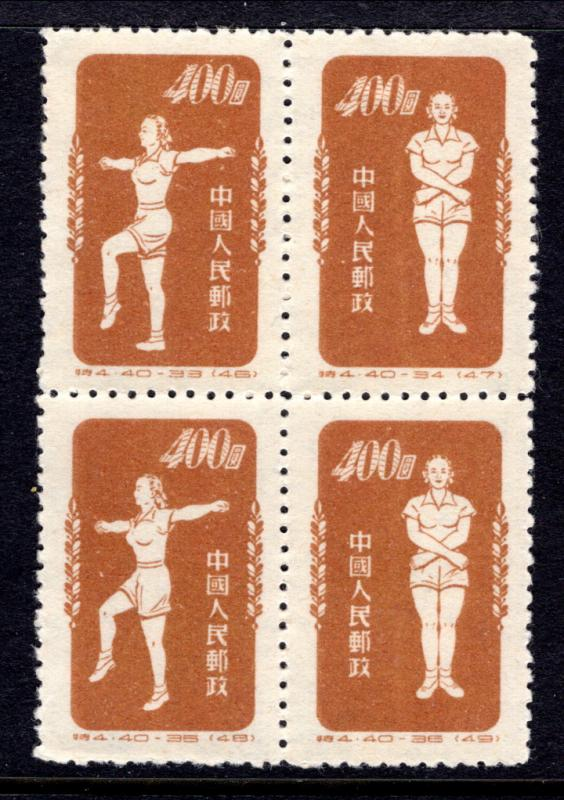 China 149 Sports Reprint Unused VF