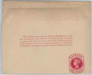 72407 - BARBADOS -   POSTAL STATIONERY  Wrapper - Higgings & Gage  # 2