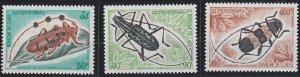 Laos 253-255 MNH (1974)