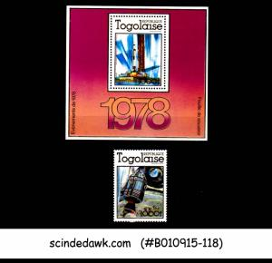 TOGO - 1978 SPACE / APOLLO - SET OF 1-STAMPS & 1-MIN/SHT - MINT NH