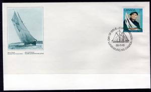 Canada 1228 Sailboat Canada Post U/A FDC
