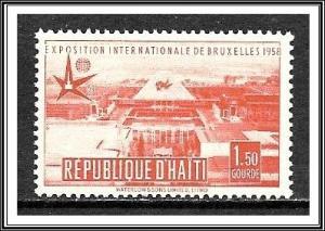 Haiti #420 Brussels World's Fair MNH