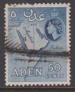 Aden Sc#53a Used