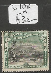North Borneo SG 108 MOG (3cls)