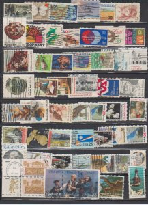 LOT OF DIFFERENT STAMPS OF USA USED (54) LOT#US275