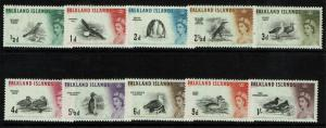 Falkland Islands SG# 193-202, Mint Hinged - S4120