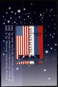 2001 Slovenia Scott Catalog Number 463a Unused Never Hinged Souvenir Sheet