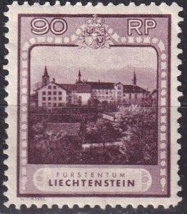 Liechtenstein #104 F-VF Unused CV $105.00 (V4595)