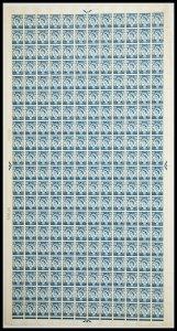 XS27 1/6 Scotland Regional Sheet - Full sheet UNMOUNTED MINT/MNH