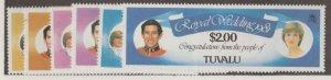 Tuvalu Scott #157-162 Stamps - Mint NH Set