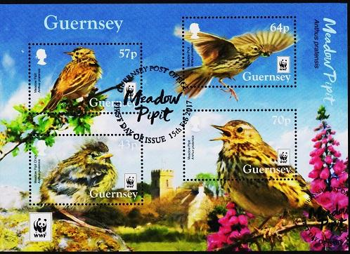 Guernsey. 2017 Miniature Sheet. Fine Used
