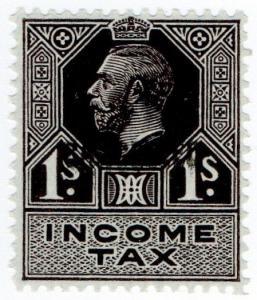 (I.B) George V Revenue : Income Tax 1/- (1934)