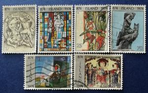 1100th Anniversary of Settlement of Iceland Scott # 462, 464-6 & 470-471 (I711)