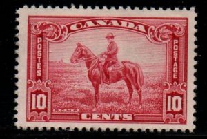 Canada Sc 223 1935 10c RCMP Officer on Horse stamp mint VF NH