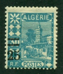 Algeria 1927 #69 MH SCV (2020) = $0.25