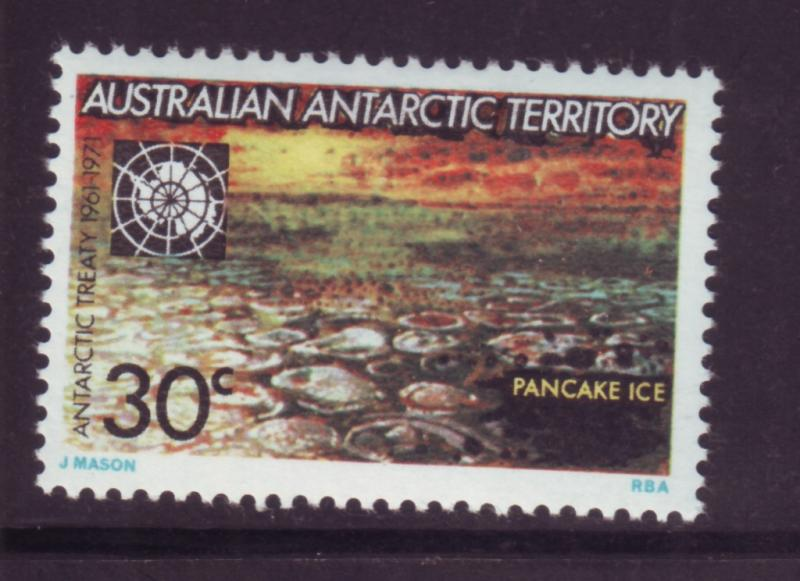 J16473 JLstamps 1971 AAT australia hv of set mh #L20 antarctic views