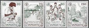 Vanuatu  573-6  MNH World Food Day