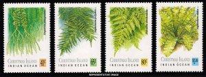Christmas Island Scott 238-241 Mint never hinged.