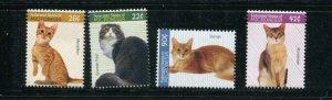 Micronesia MNH 751-4 Domestic Cats