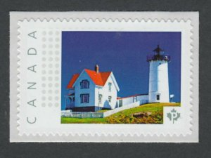 lq. LIGHTHOUSE - 2 = Picture Postage Personalized stamp MNH Canada 2014 p73Lh5/2