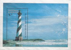 Antigua & Barbuda, Sc 2148 (2), MNG, 1998, Lighthouse