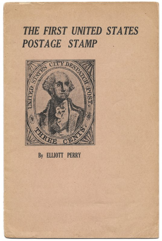 Doyle's_Stamps: 1920 The First United States Postage Stamp