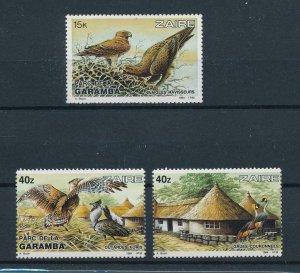 [102894] Zaire Congo 1984 Birds vögel oiseaux  From set MNH