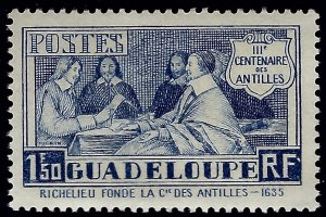 Guadeloupe Sc#144 Mint F-VF...French Colonies are hot!