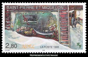 Saint Pierre & Miquelon Scott 621 Mint never hinged.