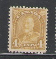 Canada Sc 168 1930 4c G V arch issue stamp mint
