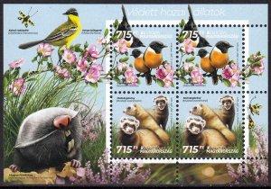 HUNGARY 2021 EUROPA CEPT BIRDS OISEAUX VOGEL UCCELLO [#2105]